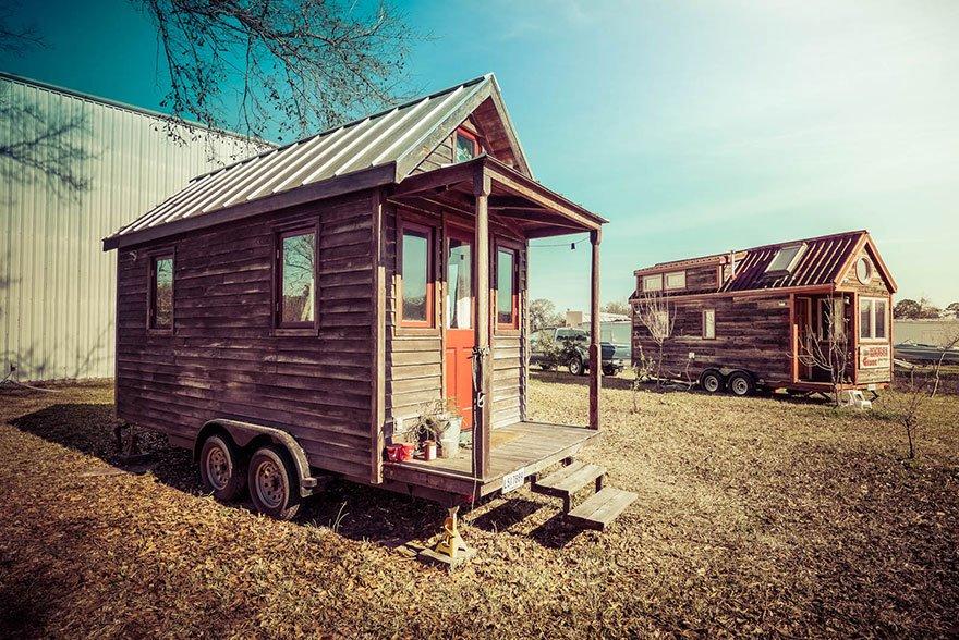 Миниатюрные дома в США