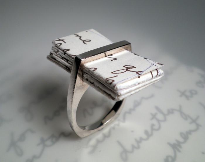Необычные дизайнерские кольца