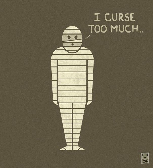 Почему грустят монстры