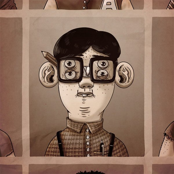 Школьные стереотипы от Alex Solis