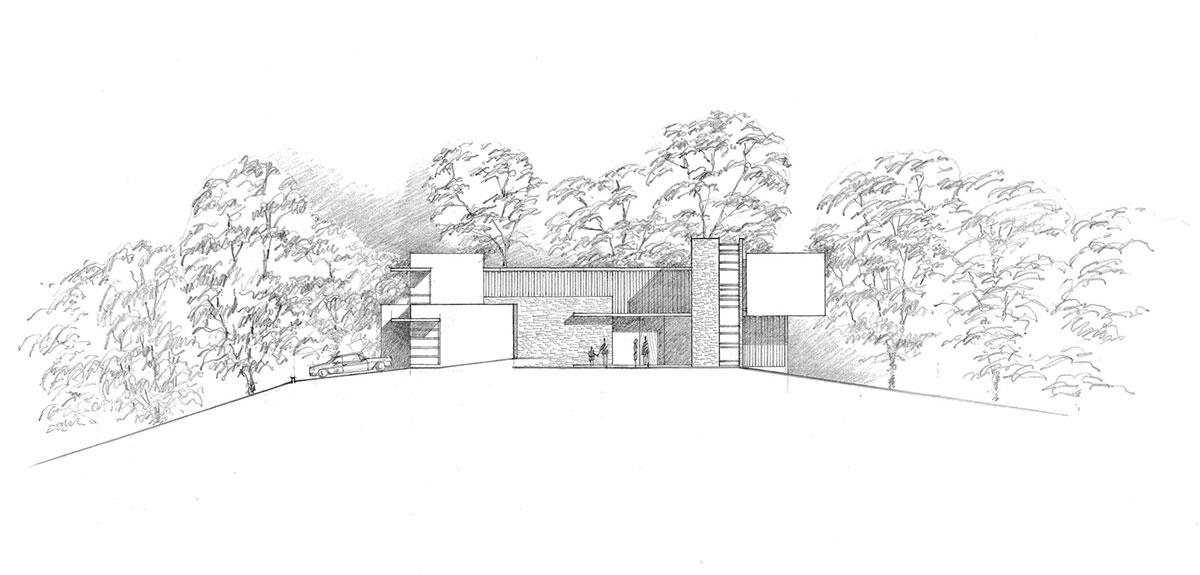 Двухэтажный частный дом в винограднике от Swatt Miers