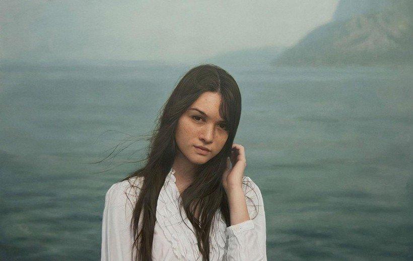 Гиперреалистичные женские портреты маслом от Игаля Озери (Yigal Ozeri)
