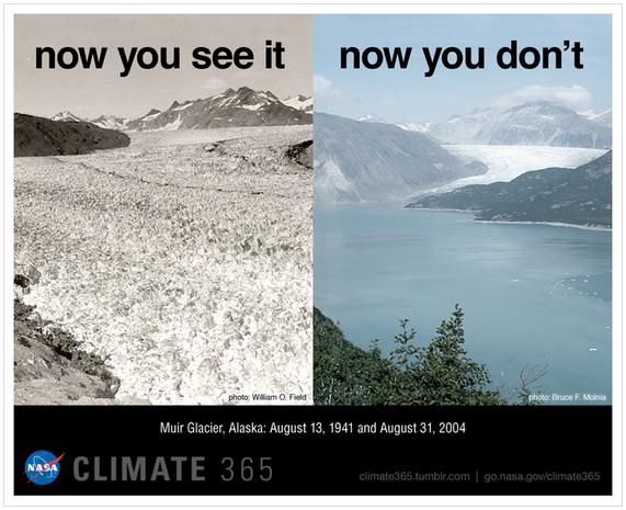 Признаки изменения климата и грядущей экологической катастрофы