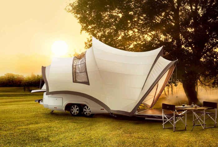 10 домов на колесах для автотуризма