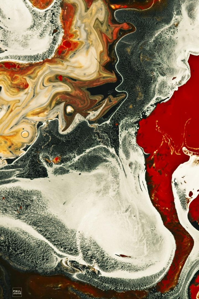 Абстрактные картины от Поля Джуно