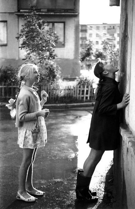 Добрые фотографии советского прошлого