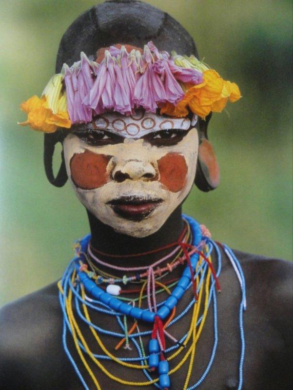Мода и красота в африканском племени