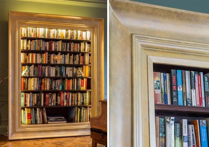 Необычные и оригинальные книжные полки