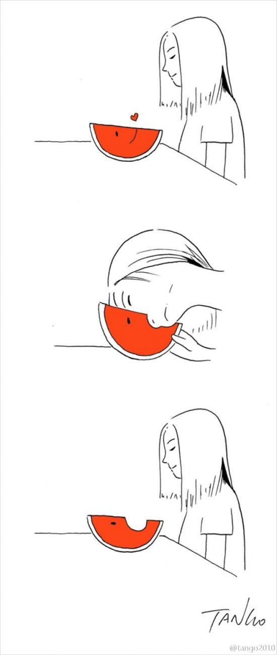 Остроумные комиксы от художника Tango