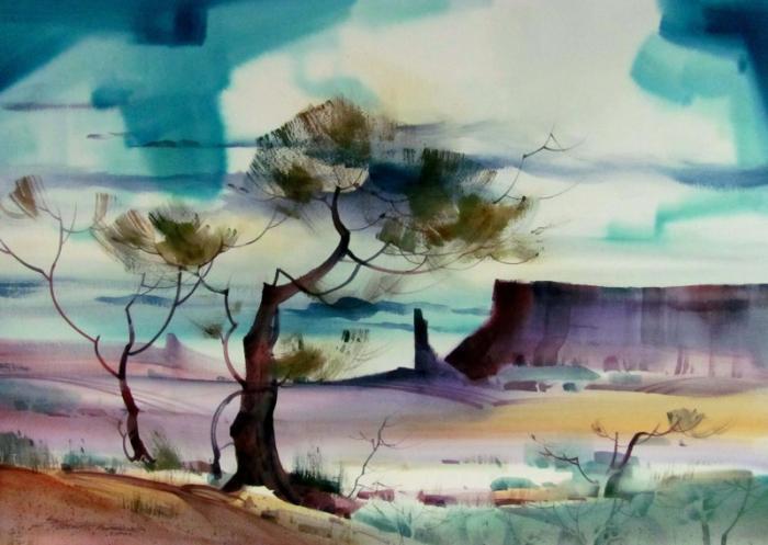 Живопись акварелью от Стерлинга Эдвардса