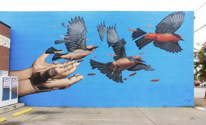 Прекрасные работы американского художника Джеймса Балло