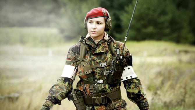 5 женских отрядов специального назначения
