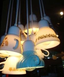 Как превратить столовые приборы в осветительные