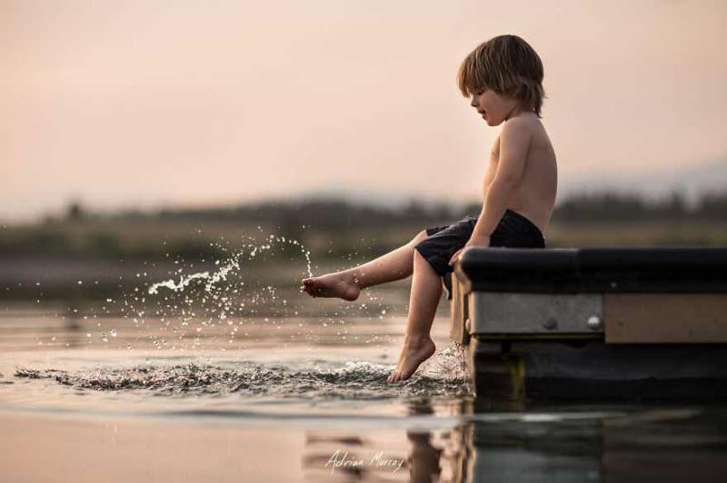 Лето двух сыновей на природе