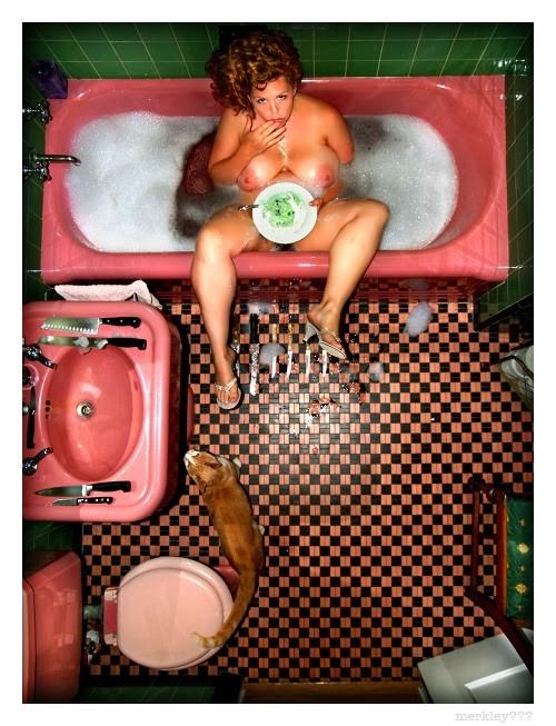 Сумасбродные снимки от американского фотографа Merkley
