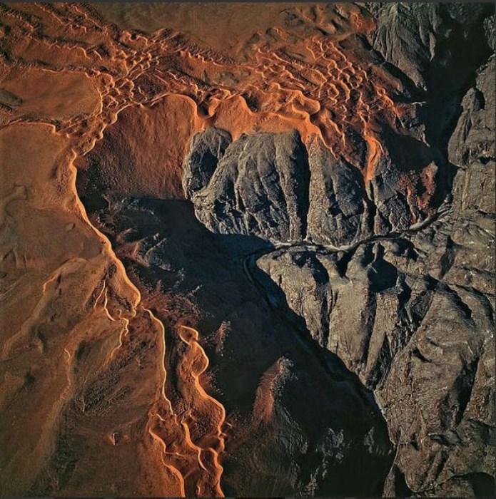 Абстрактные аэрофотографии от Бернхарда Эдмайера