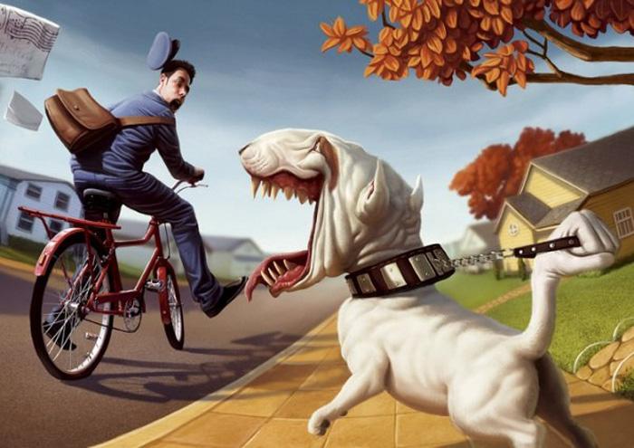 Смешные иллюстрации от бразильского художника Тиаго Хоизель