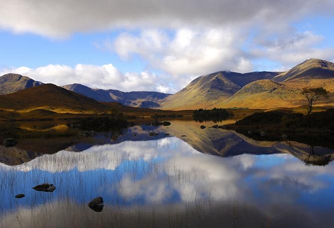 Волшебная Шотландия в разные времена года от Стива Картера