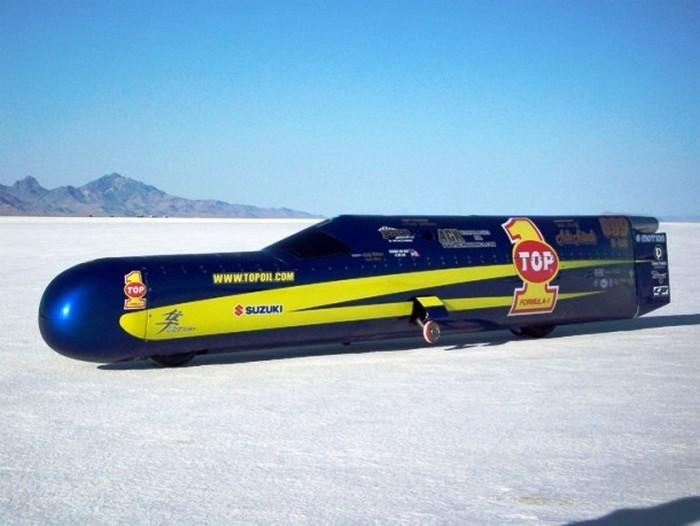 Самые быстрые транспортные средства в мире