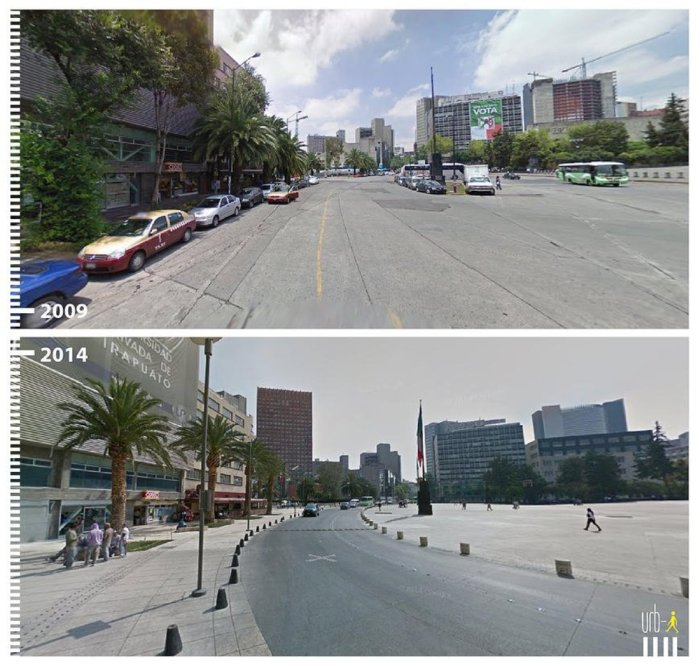 Удачная трансформация городского пространства