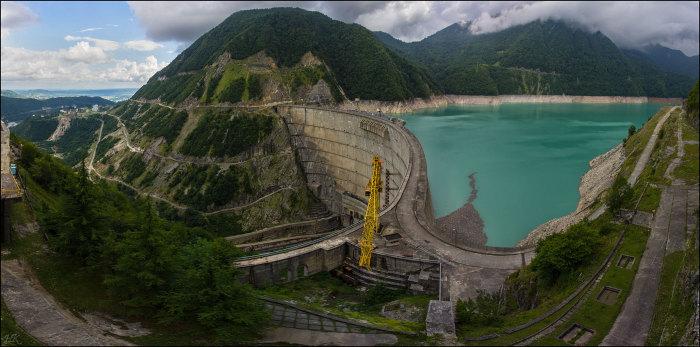 15 самых высоких в мире плотин