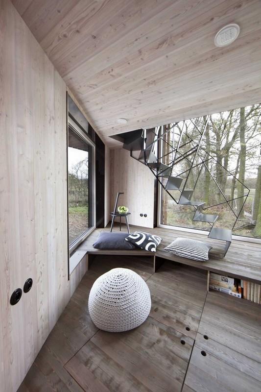 Энергоэффективный деревянный дом в Чехии