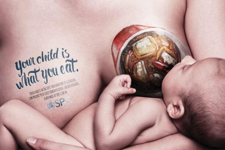 Кампания за здоровое питание кормящих мам