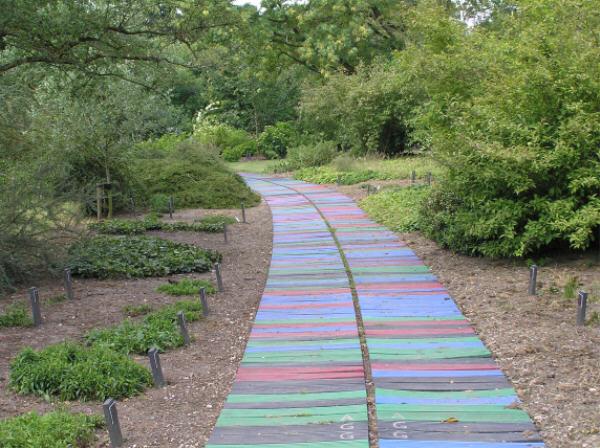Креативные садовые дорожки
