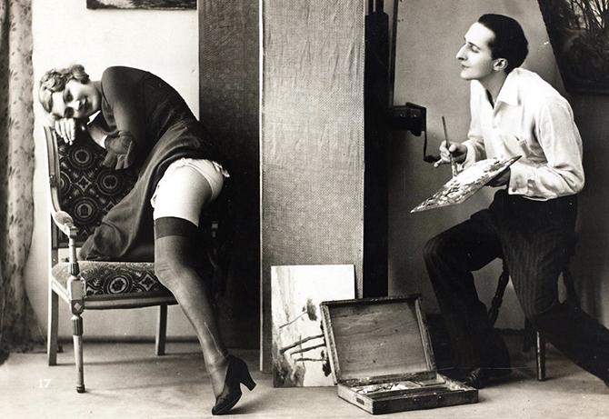 Эротические фотографии начала ХХ века