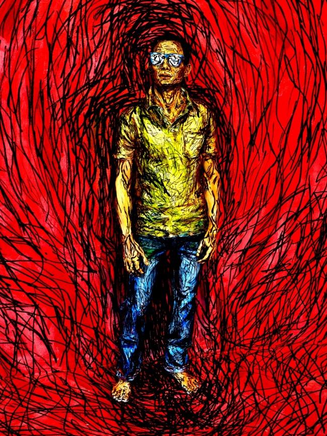 Рисунки людей в реальности от Алексы Мид