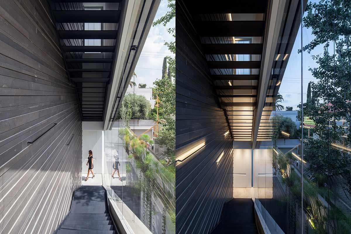 Частный дом из бетона Concrete Cut от студии Pitsou Kedem