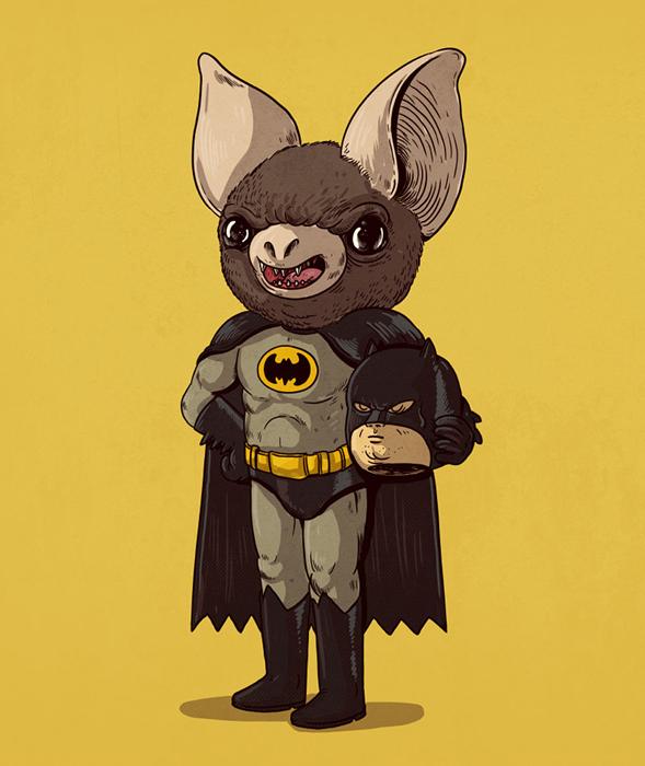 Что скрывают известные герои под маской от Алекса Солиса