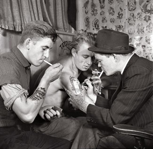 Золотой век татуировки с 1900 по 1970 годы