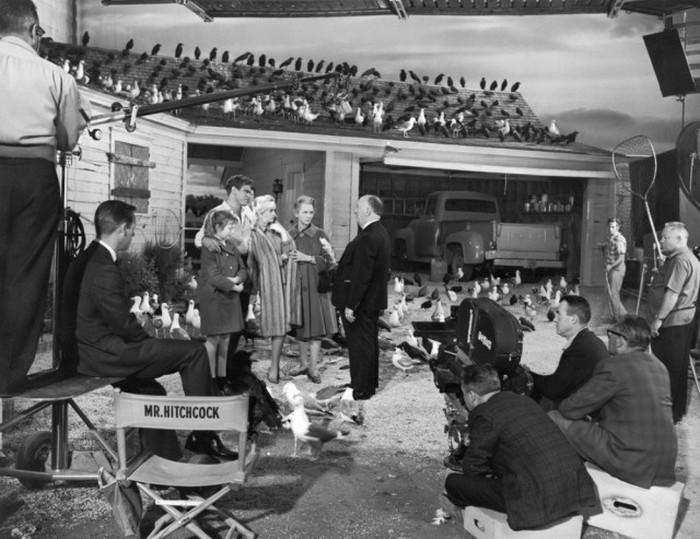 Фотографии, сделанные на съемочных площадках известных голливудских фильмов