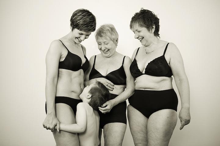 Фотопроект о рожавших женщинах от Эшли Уэллс Джексон