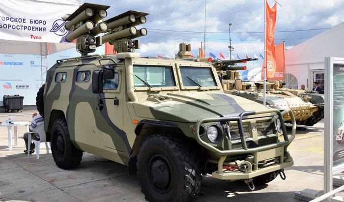 Мобильные бронемашины российской армии