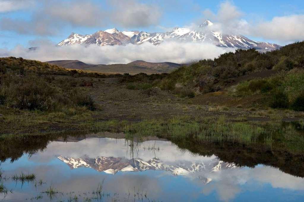 Живописные озёра вулканического происхождения