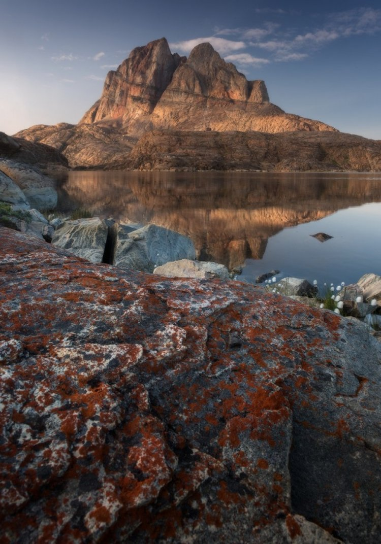 Суровая и величественная красота Гренландии