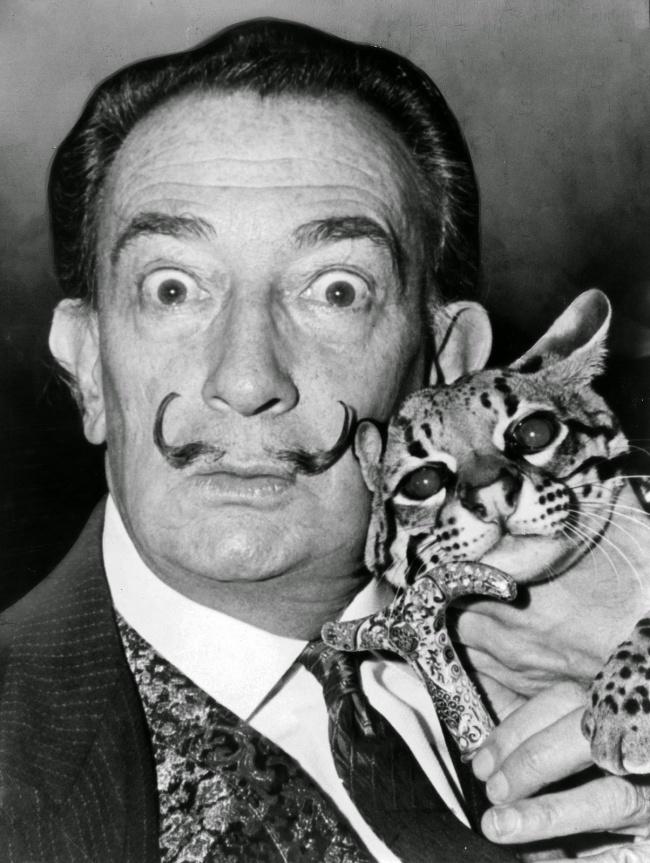 Великие люди и их коты