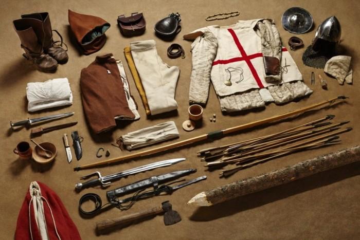 Амуниция британских солдат с 1066 года до наших дней