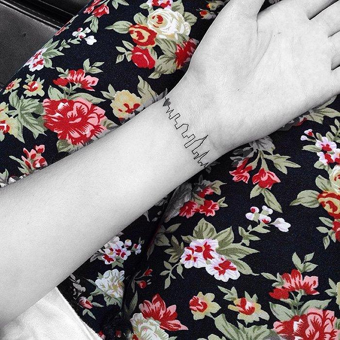 Минималистичные татуировки от JonBoy