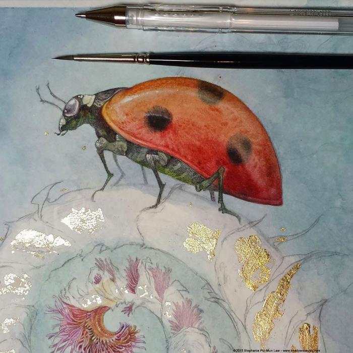 Сказочные акварельные картины от Стефани Лоу