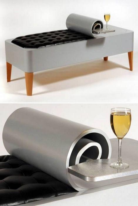 Футуристичная мебель, которая создает оптические иллюзии