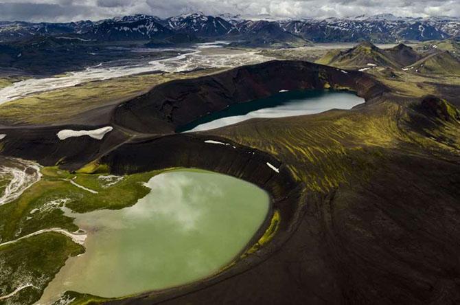 Красота вулканических озер со всего мира