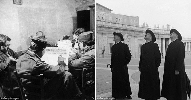 Подборка фотографий из Италии 1950-х
