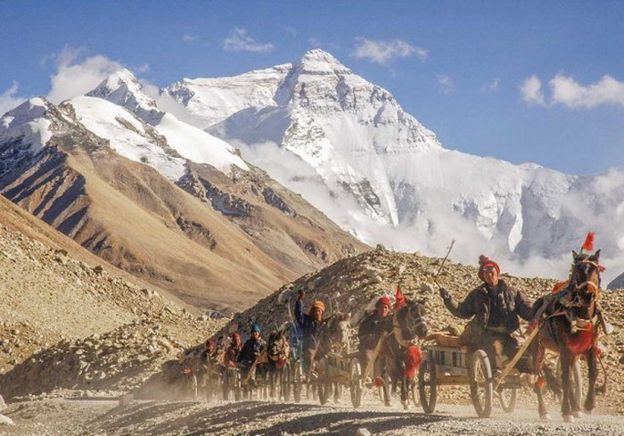 Величественная красота Эвереста на фотографиях