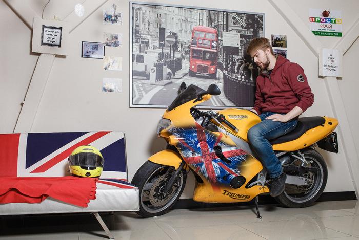 Зимовка мотоцикла в квартире