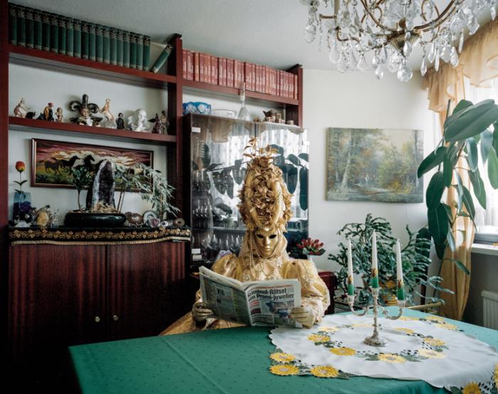 Фантастический косплей в пределах дома от Клауса Пичлера