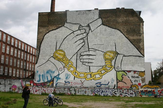 20 сильных стрит-арт работ уличных художников