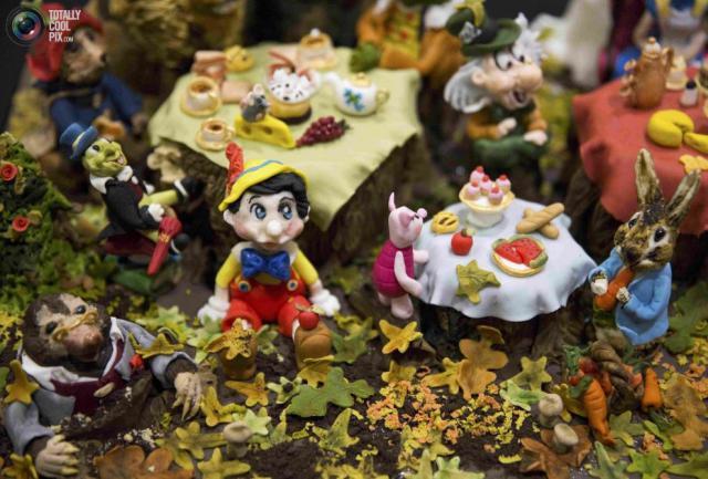 Невероятные торты и пирожные с фестиваля выпечки в Лондоне